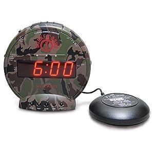 shake awake alarm clock instructions