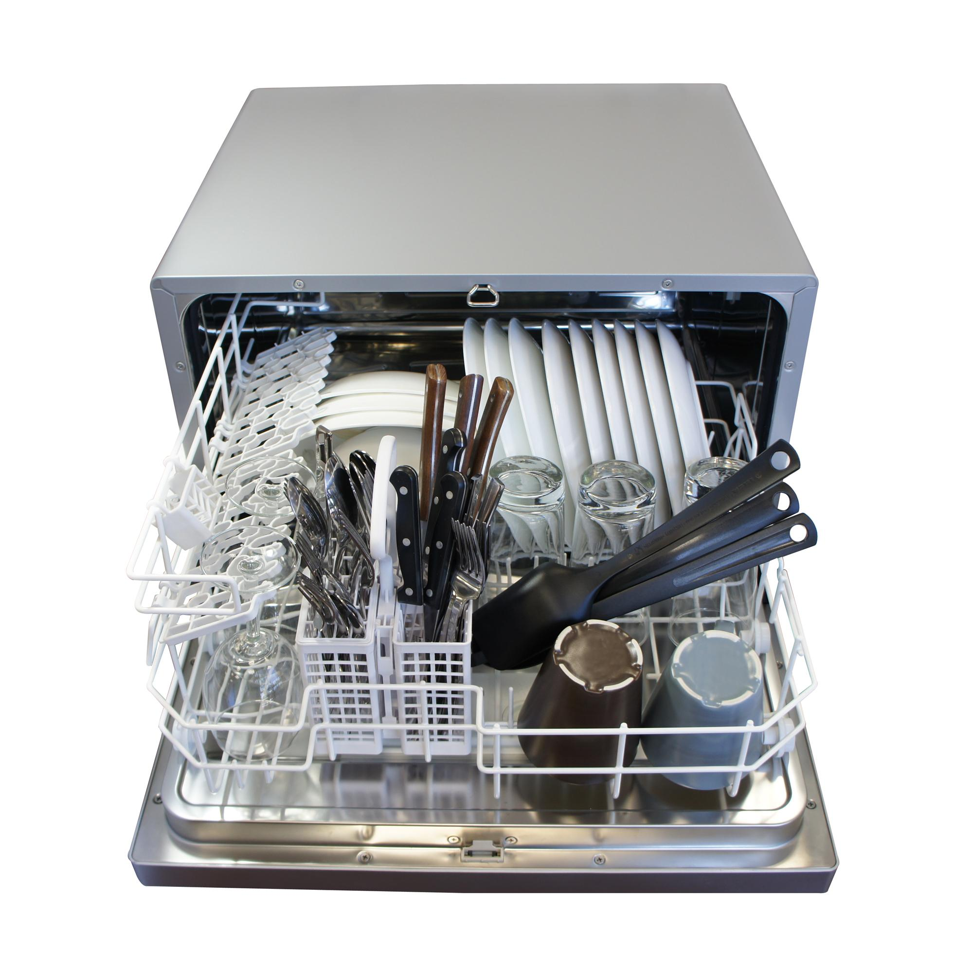 Countertop Dishwasher Adapter : Amazon.com: SPT Countertop Dishwasher, White: Appliances