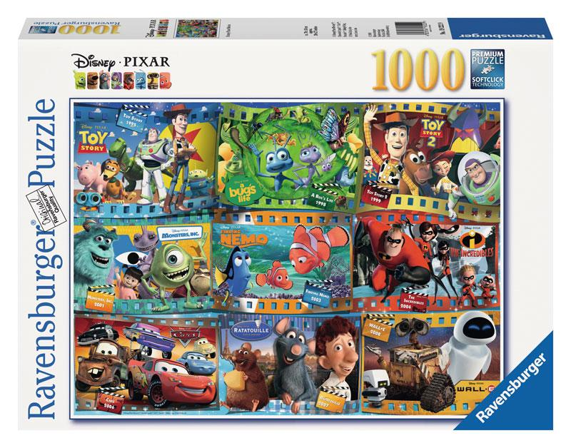 Amazon.com: Ravensburger Disney Pixar: Disney-Pixar Movies (1000-Piece