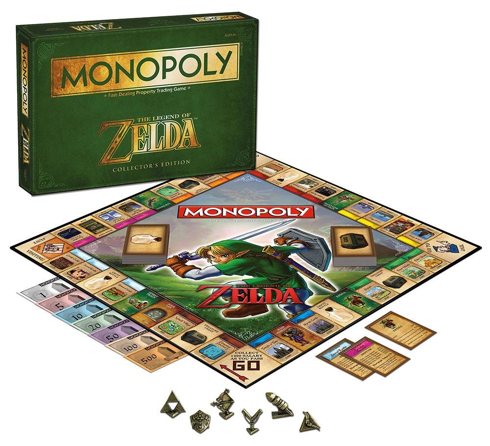 Amazon.com: MONOPOLY: The Legend of Zelda Collector's