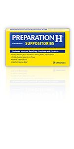 preparation h, hemorrhoid relief, hemorrhoid symptoms, hemorrhoid suppositories, swelling, burning