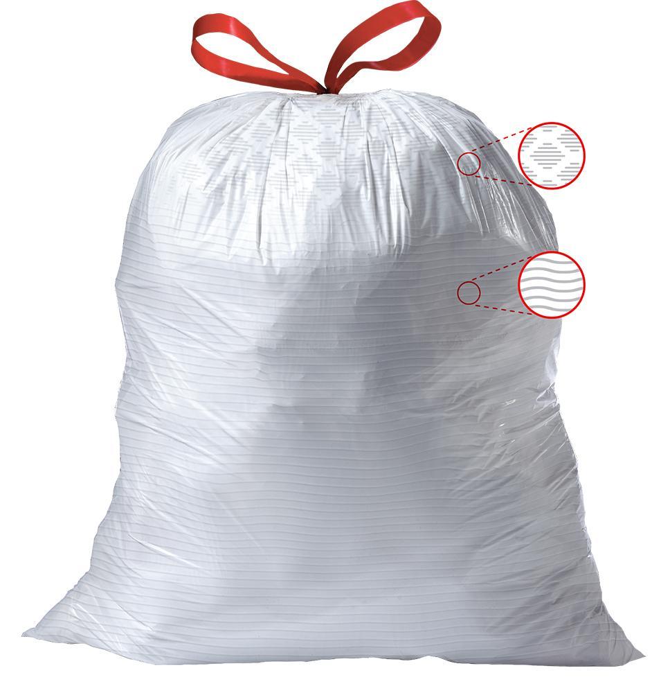 Amazon Com Glad Tall Kitchen Drawstring Trash Bags 13
