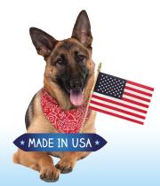 indigo fresh dental stick dog treats are made in the USA
