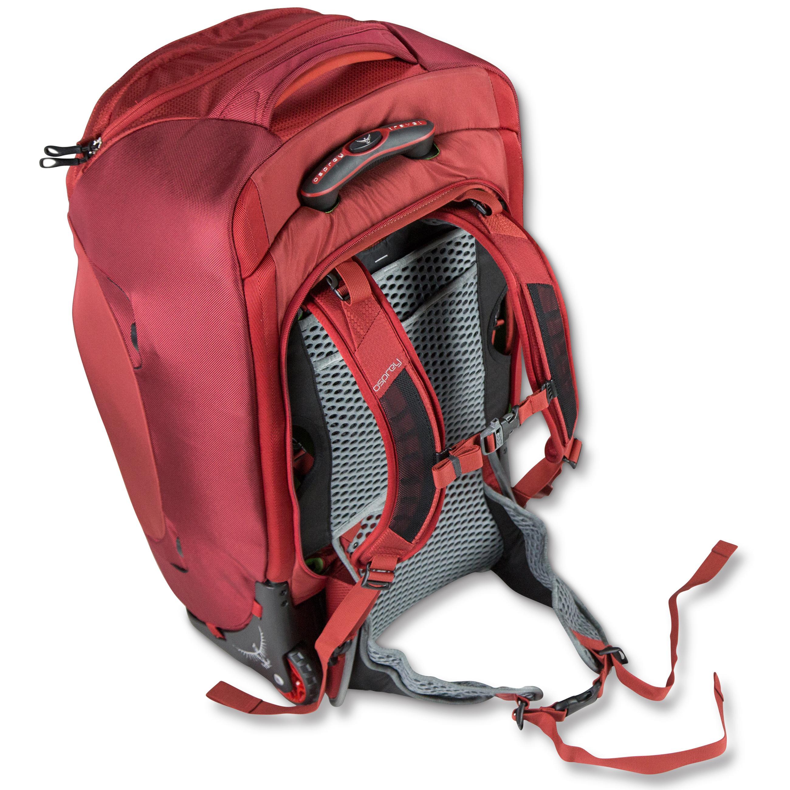 Amazon.com : Osprey Packs Sojourn Wheeled Luggage, Flash Black, 60 L