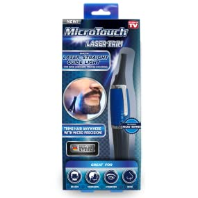 Amazon.com: Laser Trim by Micro Touch Men's Trimmer, with