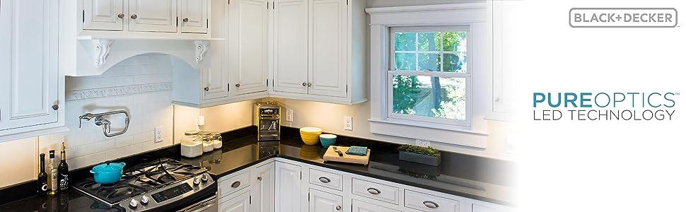 led kitchen cabinet lights,led kitchen light,led kitchen lighting,black & decker led lighting
