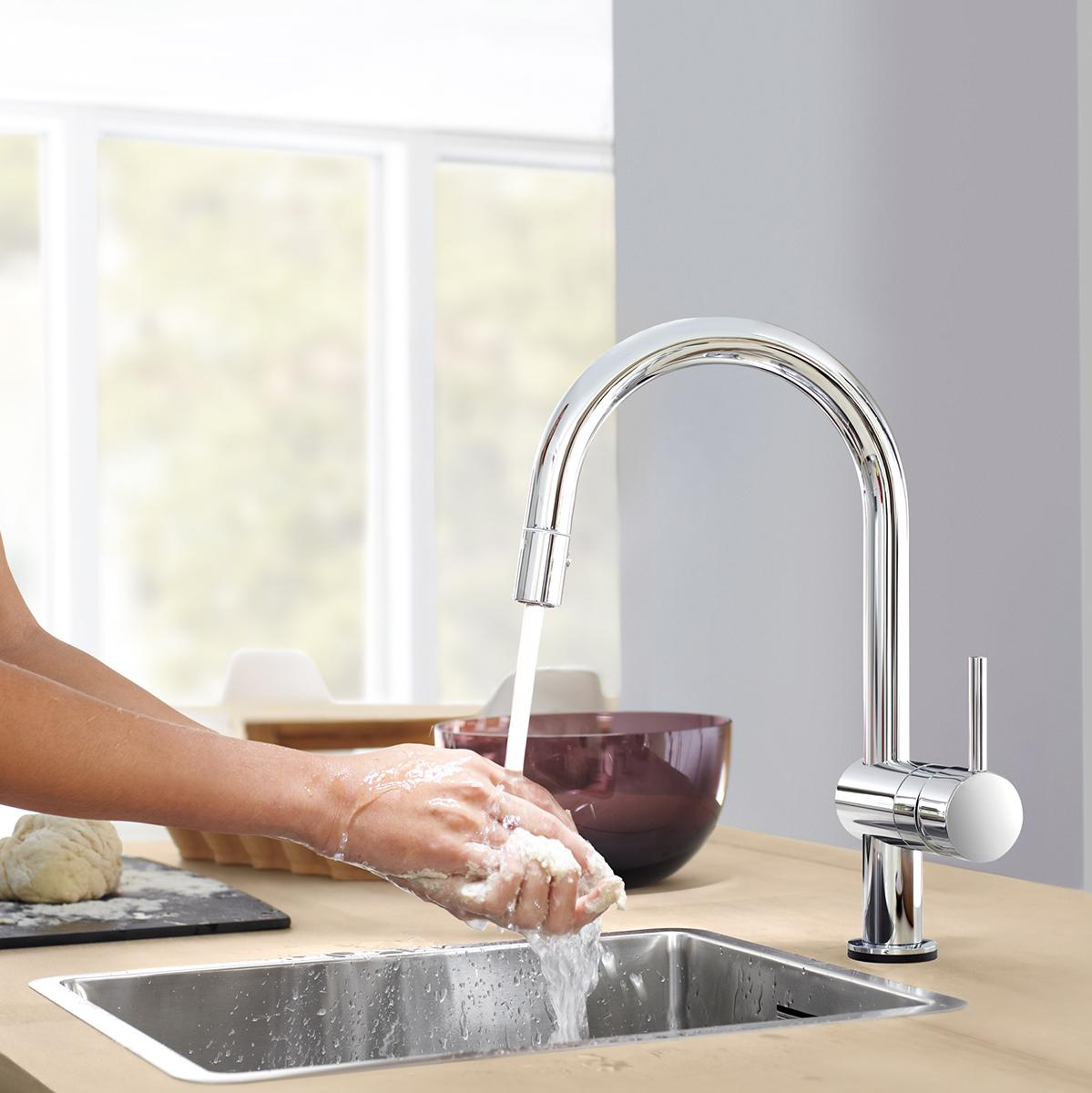 100 amazon grohe kitchen faucets grohe 33870000 bridgeford kitchen pullout faucets - Grohe kitchen faucets amazon ...