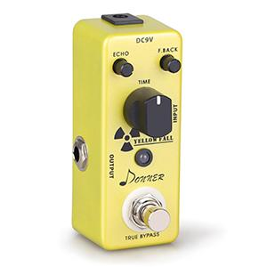 donner yellow fall vintage pure analog delay guitar effect pedal true bypass. Black Bedroom Furniture Sets. Home Design Ideas