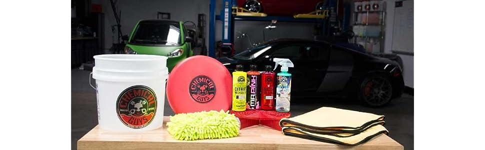 Amazon Com Chemical Guys Hol121 Best Car Wash Bucket Kit