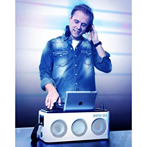 Philips DS8900 M1X-DJ Sound System Docking Station and Bluetooth