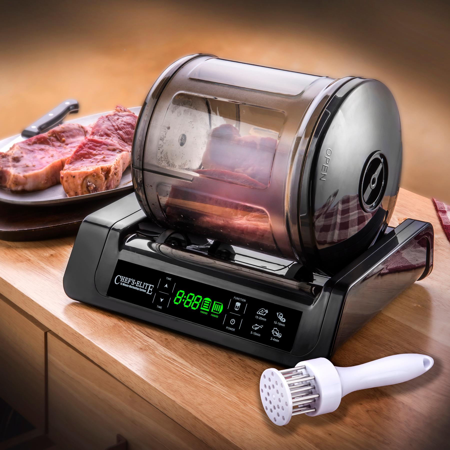Elite Auto Credit >> Amazon.com | STX International STX-1000-CE Chef's Elite 15 Minute Meat & Vegetable Marinator ...