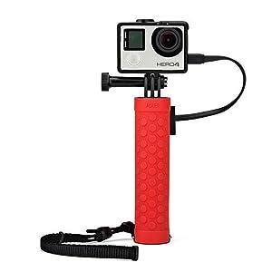 gopro battery mount, gopro mount, gopro battery grip, action video mount, action video battery