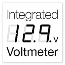 voltmeter, built in, battery tester, diagnostics