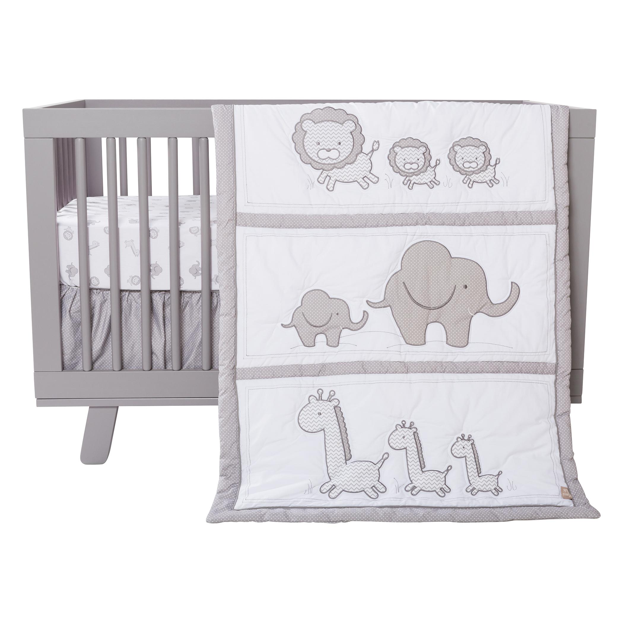 Amazon Trend Lab Safari Chevron 3 Piece Crib Bedding Set