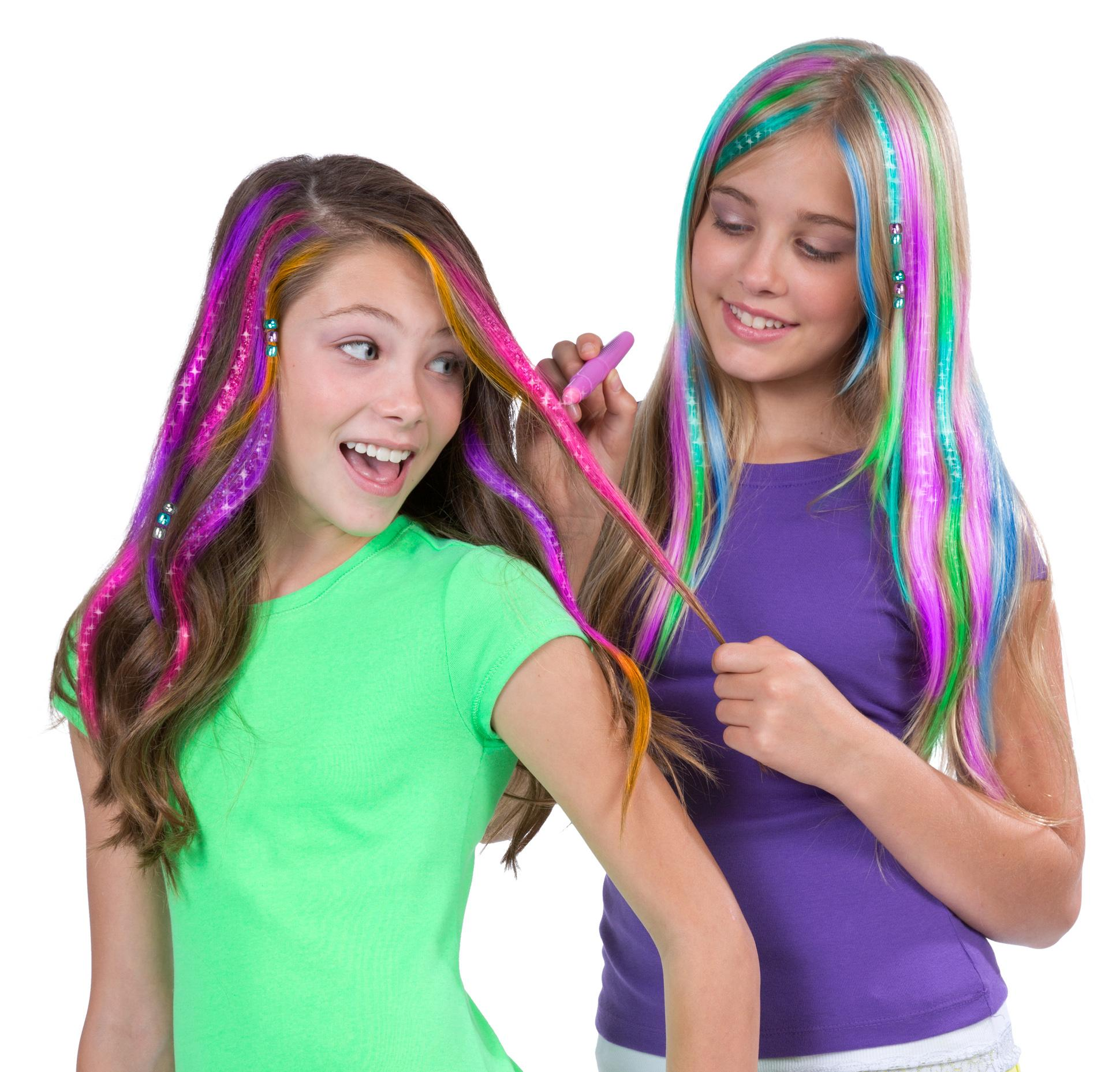 Amazon Com Alex Spa Deluxe Hair Chalk Salon Toys Amp Games