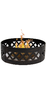 Amazon.com : Best Choice Products Hex Shaped Fire Pit for ... on Zeny 24 Inch Outdoor Hex Shaped Patio Fire Pit Home Garden Backyard Firepit Bowl Fireplace id=50740