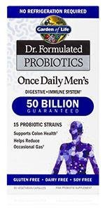 Dr. Formulated Probiotics Once Daily Men's Dr Perlmutter