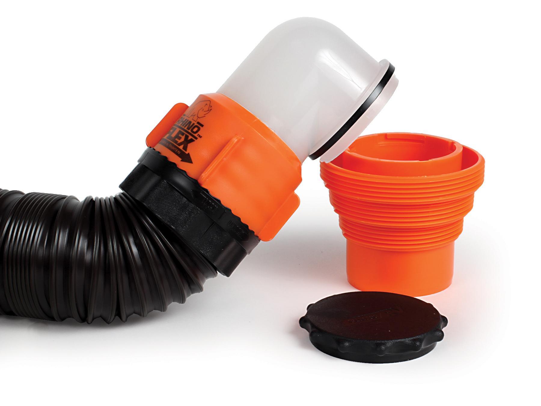 Amazon.com: Camco 39761 RhinoFLEX 15' RV Sewer Hose Kit