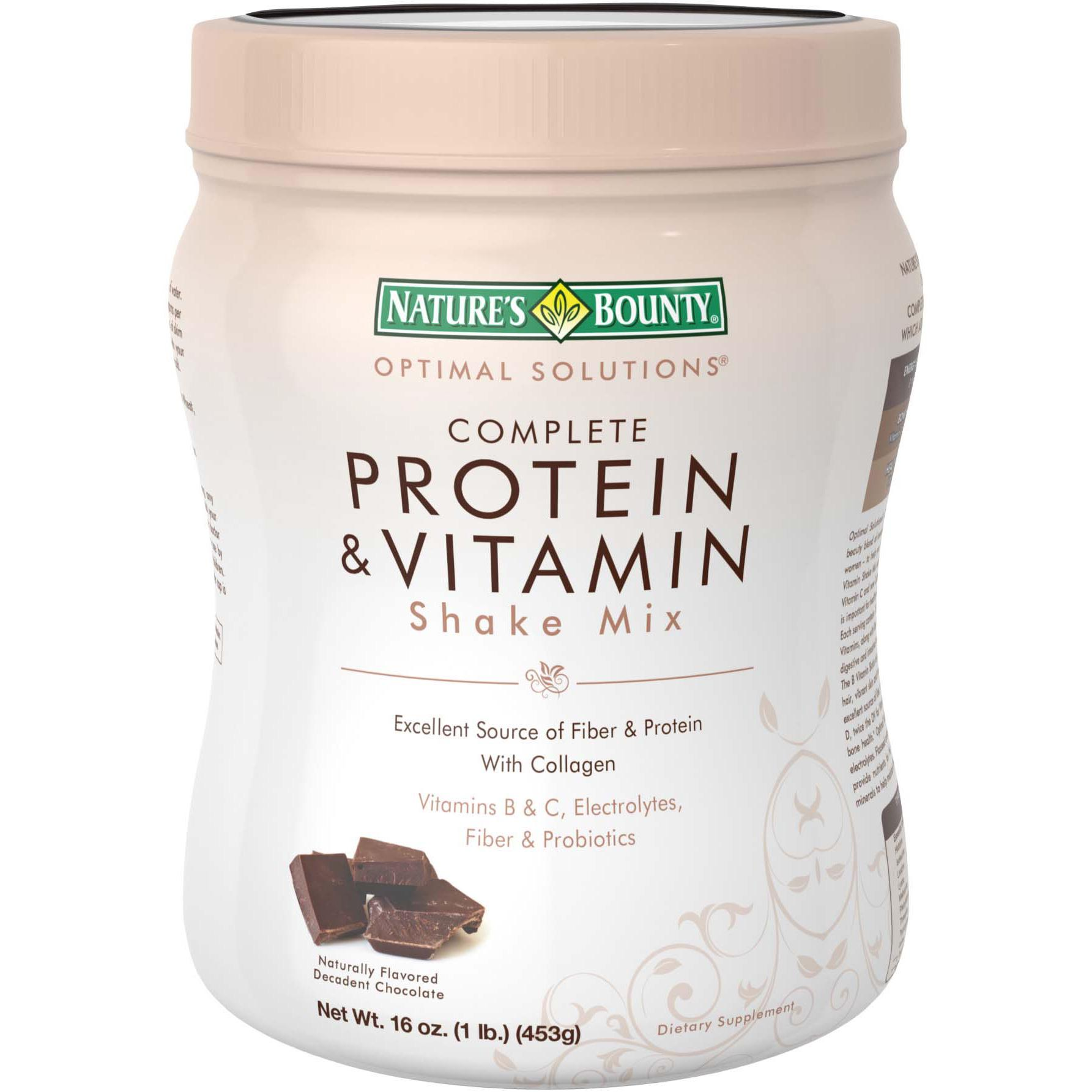 Nature S Way Protein Chocolate