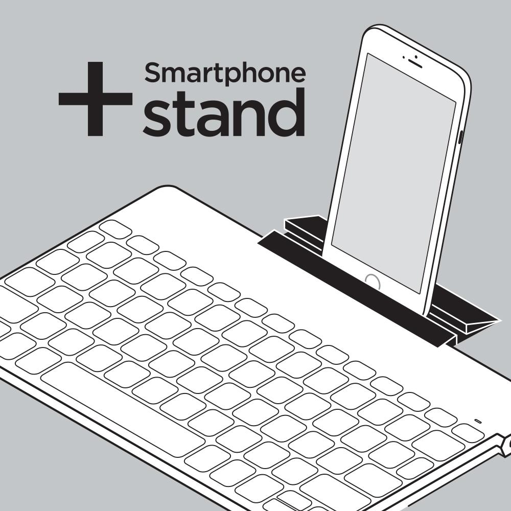 Ultra-Portable Stand-Alone Keyboard