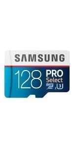 Samsung 128GB PRO Select microSDXC Memory Card