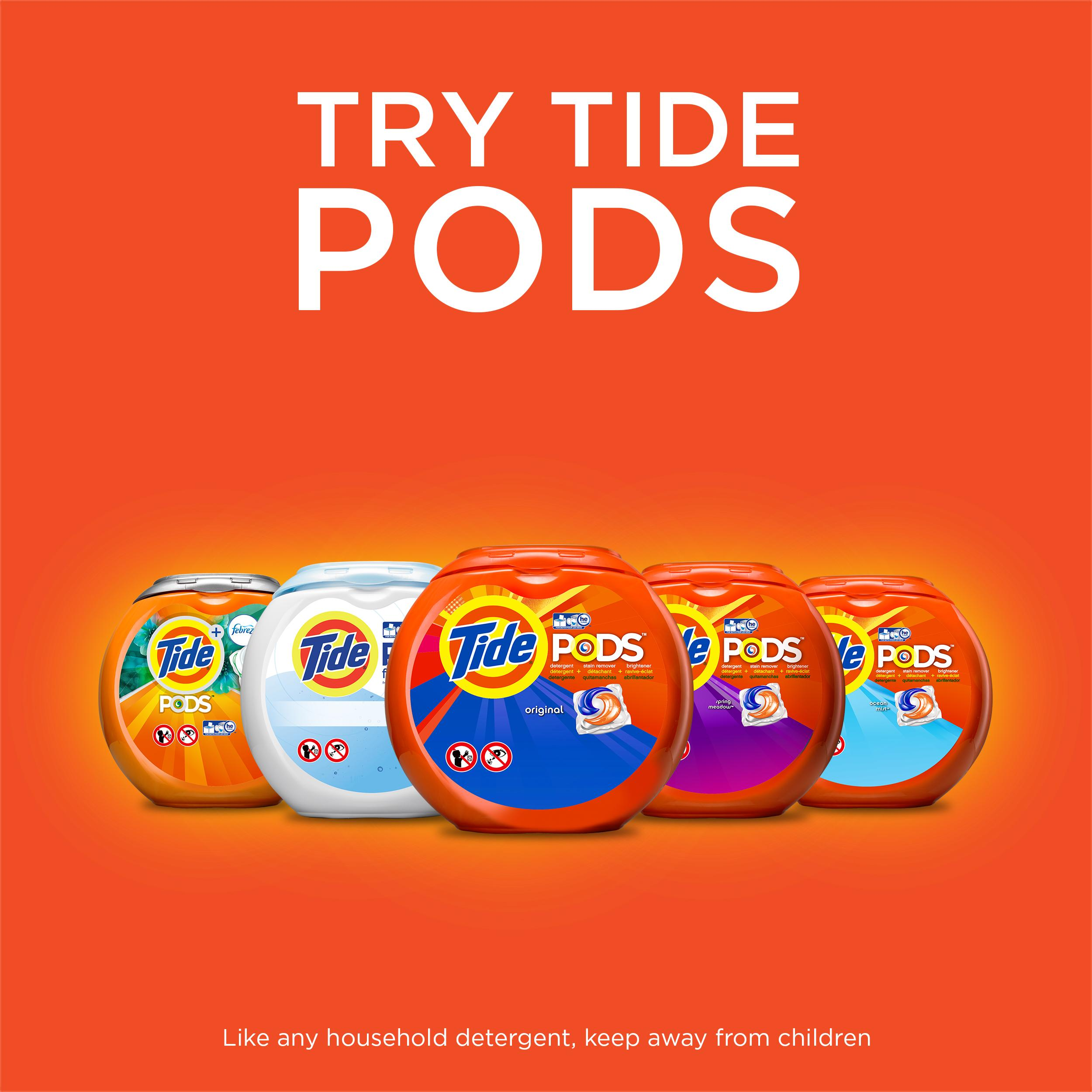 Tide Plus Touch of Downy, April Fresh Scent, Liquid Laundry Detergent, 46 Fl Oz, 24 Loads