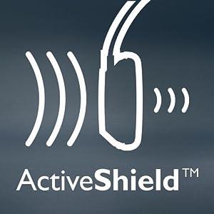 SHB8750NC/27 Wireless Noise Canceling Headphones - ActiveShield