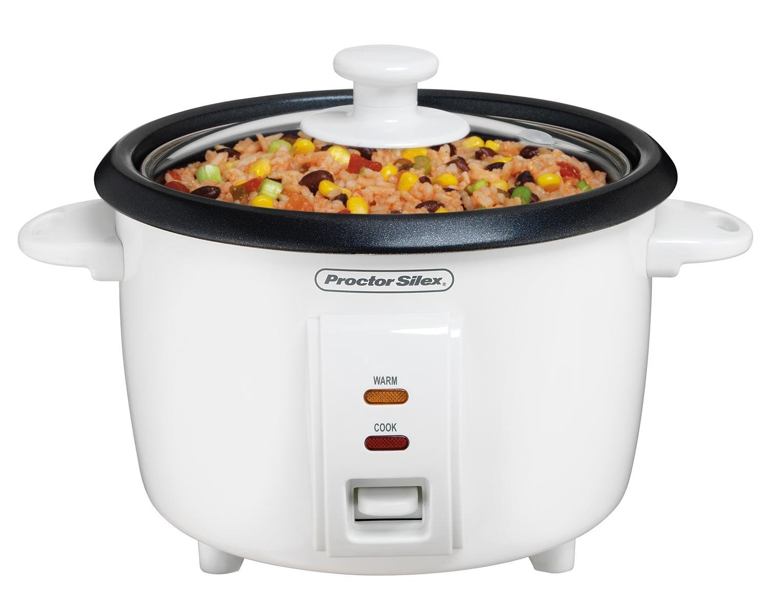 Proctor Silex 37534nr Rice Cooker 4 Cups Uncooked Resulting In 8