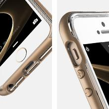 iPhone SE Case, VRS Design [Crystal Bumper][Rose Gold] - [Clear Cover][Military Grade Protection] For Apple iPhone SE