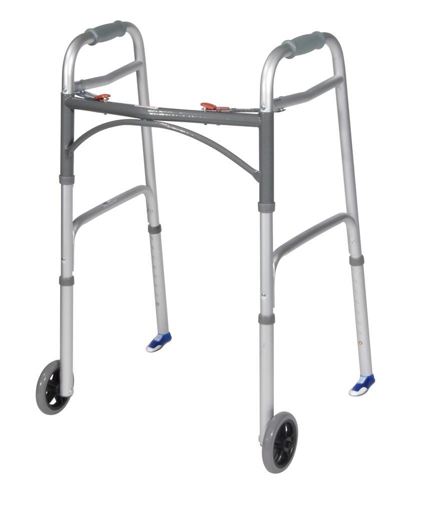 amazon com drive medical sneaker walker glides blue health