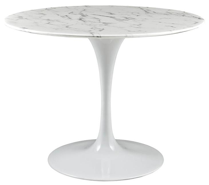 lippa  inch artificial marble dining table view larger: 40 inch round pedestal dining table
