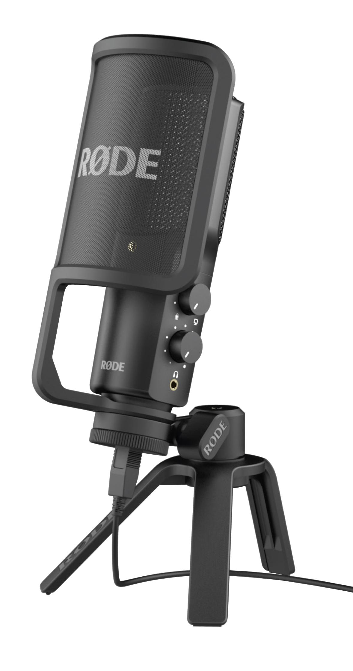 Amazon Com Rode Nt Usb Usb Condenser Microphone Musical