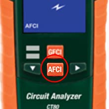 Extech Ct80 Ac Circuit Load Tester With Gfci Afci