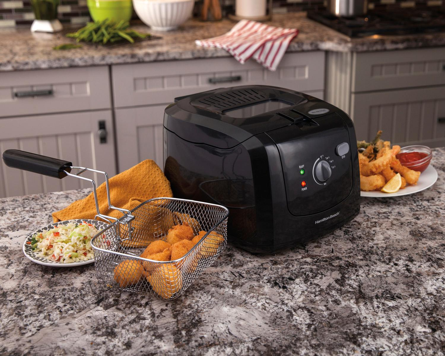 Amazon.com: Hamilton Beach (35021) Deep Fryer, Cool Touch
