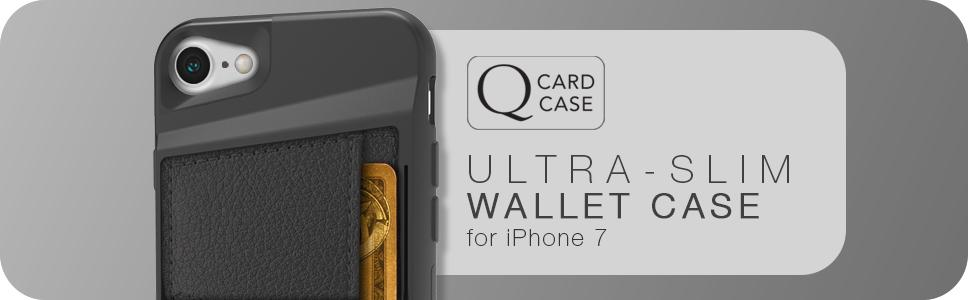 wallet case; card; credit card; cm4; silk; slim; durable; protective; rugged; tough; iPhone 7