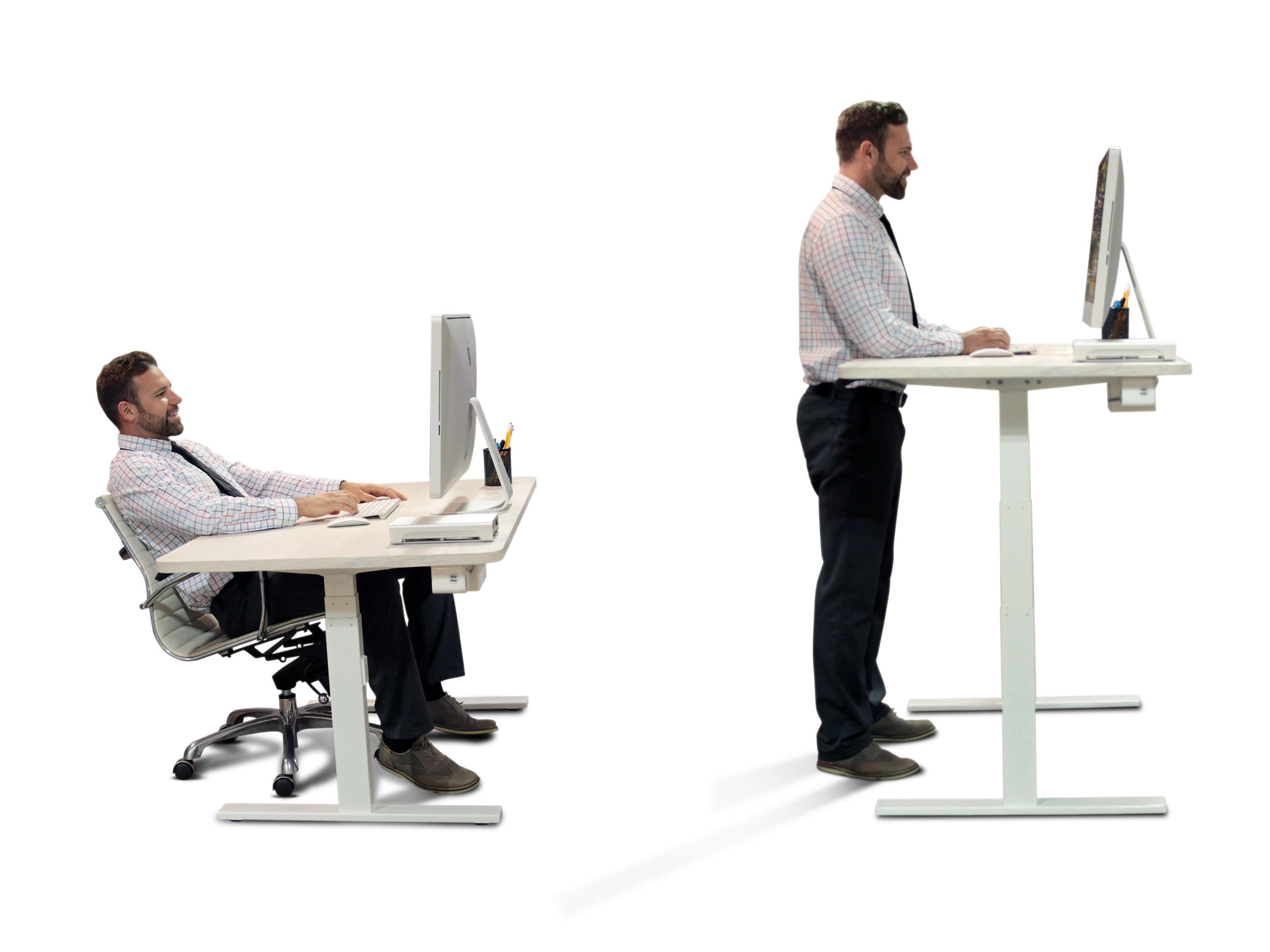 Beautiful Build Your Own Adjustable Height Desk