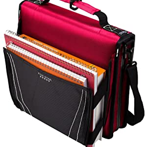Amazon.com : Five Star Zipper Binder with Expanding Pocket, 2 Inch ...