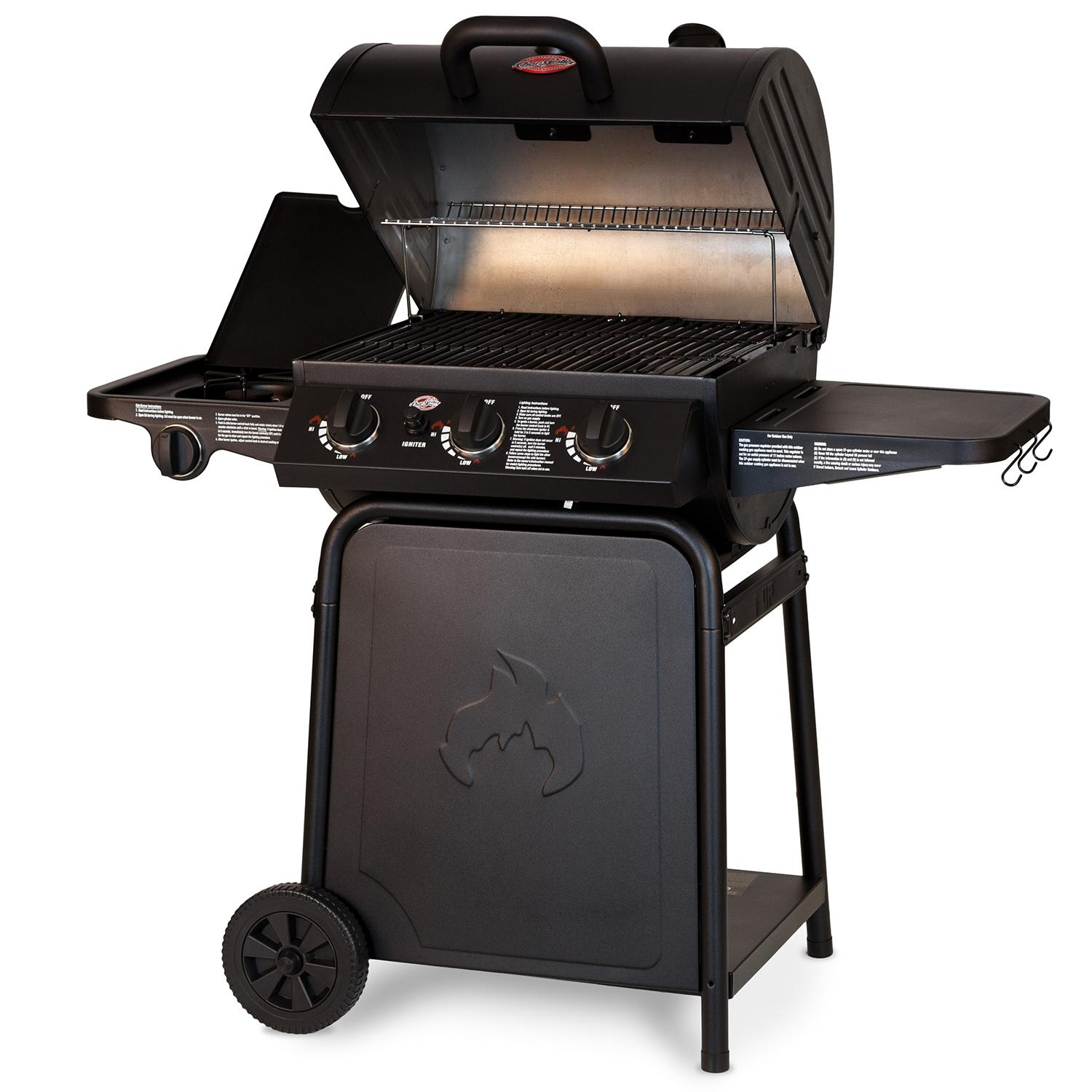 char griller 3001 grillin 39 pro 40 800 btu gas grill garden outdoor. Black Bedroom Furniture Sets. Home Design Ideas