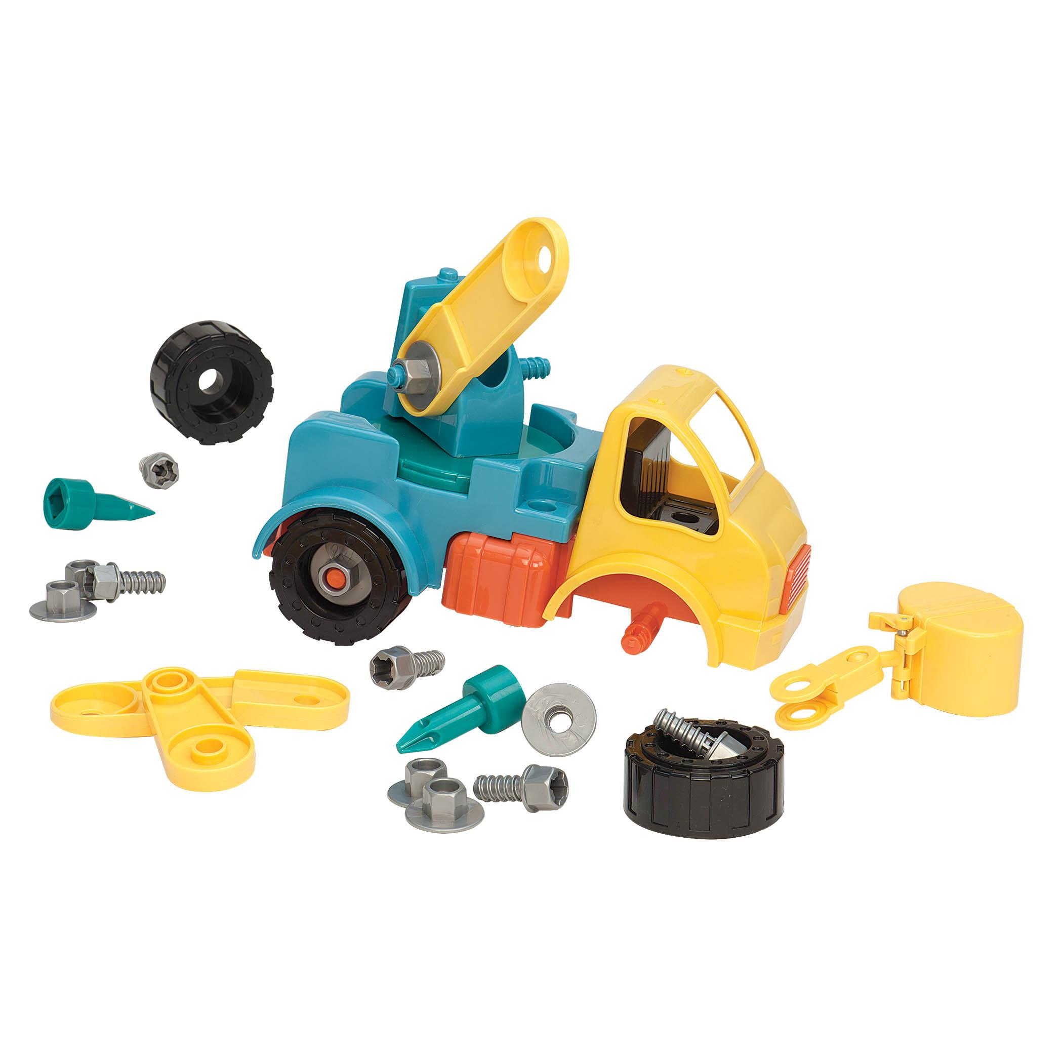 Amazon Battat Take A Part Vehicle Crane Old Model Toys & Games