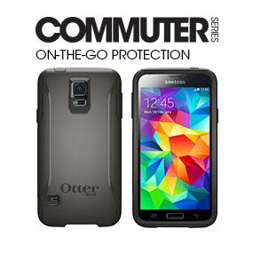 best website 4864a 2859e Otterbox Commuter Series Samsung Galaxy S5 Case - Standard Packaging  Protective Case for Galaxy S5 - Glacier (White/Gunmetal Grey)