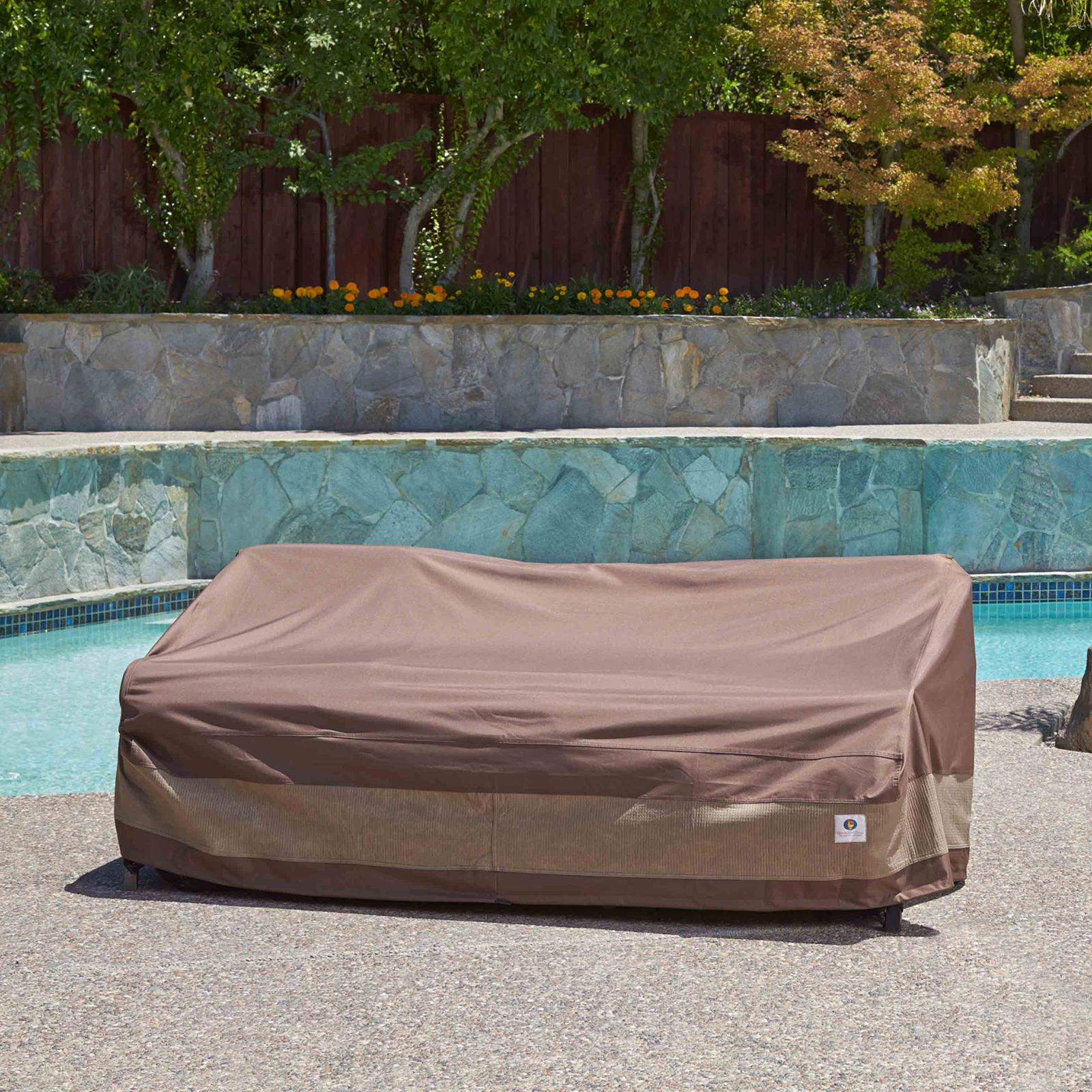 Duck covers ultimate patio sofa cover 79 for Sofa exterior amazon