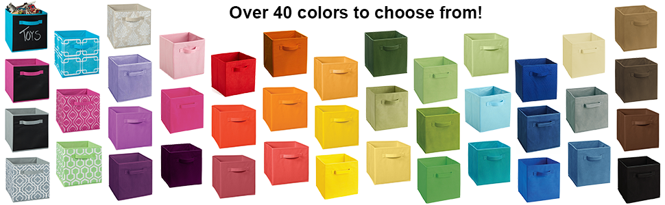 Cubeicals, fabric drawers, fabric bins, storage, ClosetMaid, colorful fabric drawers, organization