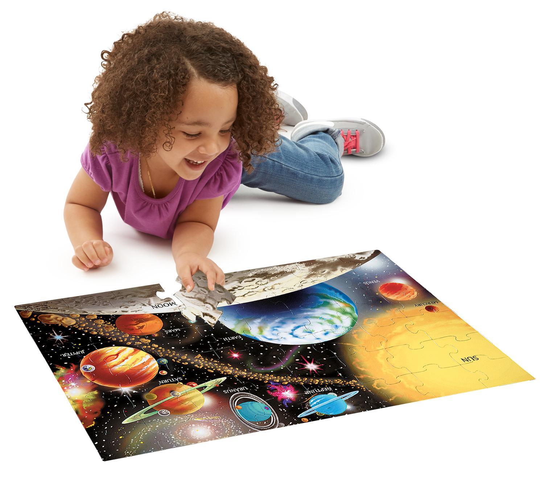 Amazon Com Melissa Amp Doug Solar System 48 Pcs Floor