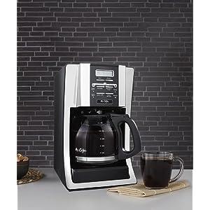 Cuisinart Coffee Maker Funny Taste : Amazon.com Mr. Coffee BVMC-SJX33GT 12-Cup Programmable Coffeemaker, Chrome: Drip Coffeemakers ...