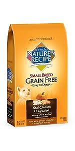 small breed grain free dog food