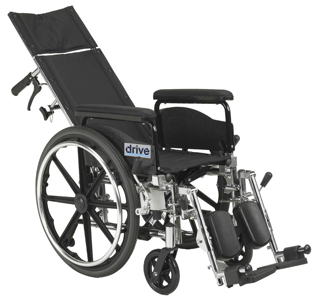 View larger  sc 1 st  Amazon.com & Amazon.com: Drive Medical Viper Plus GT Full Reclining Wheelchair ... islam-shia.org