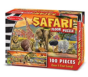 jigsaw, savannah, animals, elephants, giraffes, toy for 6 year old, boy, girl