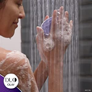 Olay DUO: Just add water for rich cleansing lather