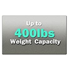 400 Pounds Weight Capacity