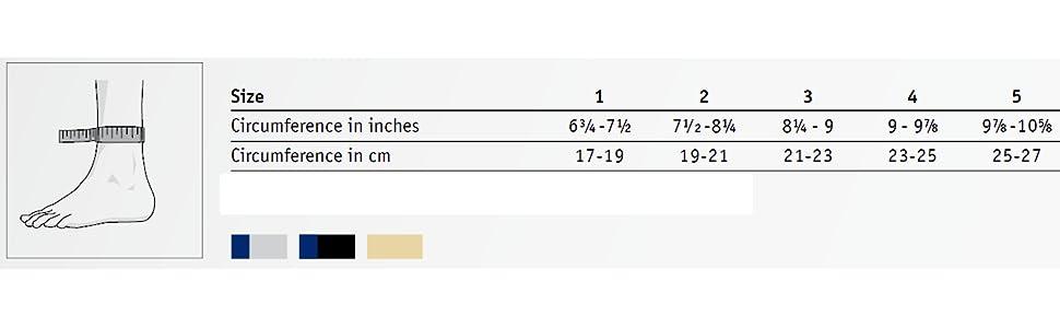 AchilloTrain Size Chart